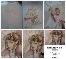 Making Of - A Clockwork Faerie by Claudia-SG