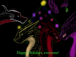 Happy Holidays! by BloodyTheNightWing