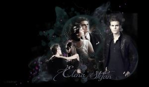 Elena and Stefan by VaL-DeViAnT