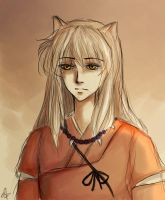 Inuyasha by sparrigold