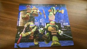 Ninja Turtles Puzzle (1) by FunZoneGallery12