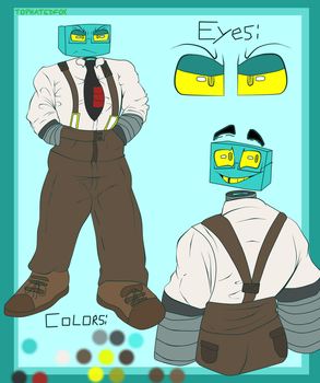 Another Liam ref by tophatedfox