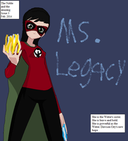 Ms. Legacy Cover by TheDoctorWriter