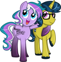 MLP: Bella Musique and Dat Brass by 290Pika