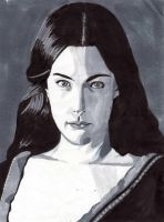 Arwen Gray Scale by Rose--Wolf