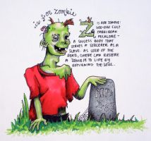 Z is for Zombie by HayBay