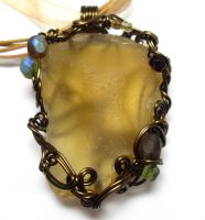 Shadowsea Pendant no. 20 by sojourncuriosities