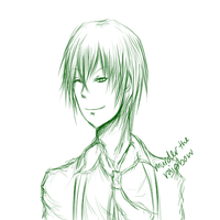 Hazama WIP by MurderTheRainbow