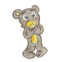 Some Adorable Bear-Thing by Author-Goddess