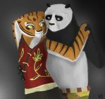 Po and Tigress by TiPophotorequester