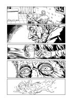 Old Man Dog page 1 black and white by fsgu