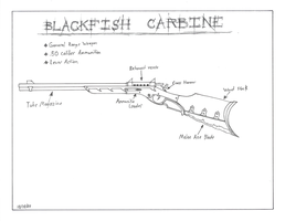 The Blackfish Carbine by gunslinger87