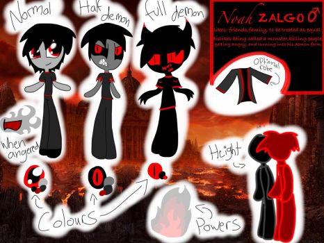 Noah Zalgo Reference By Frozenlightssketches by mariomario8384