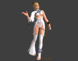 Tekken 6 - Lili White Bride [REXIL Model] by IshikaHiruma