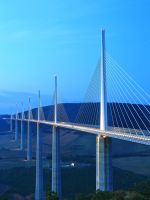 The Illusion,  Millau Viaduct by JulianWells