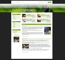 Gaming Community - webdesign by Noergaard
