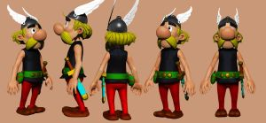 Asterix by Plasma3D