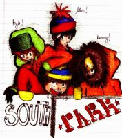 South Park by GabbaAlche