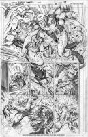 Earthman vs. Durlan by Cinar