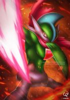 SWORD - THE GALLADE (Commission) by CHOBI-PHO
