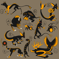 Halloween Draw-To-Adoptables by Dreamscape195