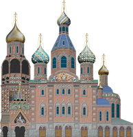 Church of the Savior on Blood by Herbertrocha