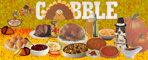 Thanksgiving Dinner Collage by LadyIlona1984