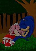 sonamy - Rest by Vixen-T-Fox