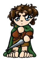 Chibi Frodo by doodler