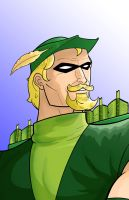 Green Arrow by Thuddleston