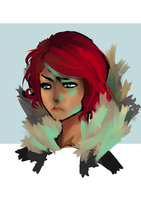 Transistor Red by crouchingDUCK