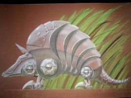 Mechanical Animal ARMOURDILLO by TheAnti-Lily