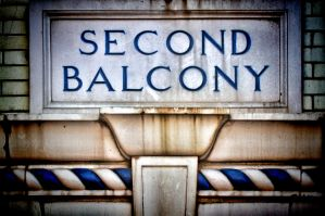 Second Balcony: Paducah's Columbia Theatre by TomFawls