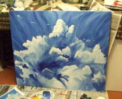 ...Clouds... by maelyn