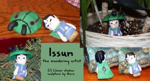Issun the wandering artist by nooby-banana