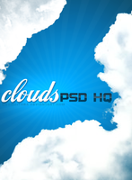 Cloud high quality PSD by mermojtaba