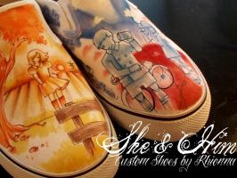 SHOES: She and Him by yurchan