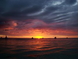 Boracay Sunset-3 by SniperOfSiberia