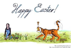 Happy Easter 2013 (Master the Tiger) by PaulEberhardt