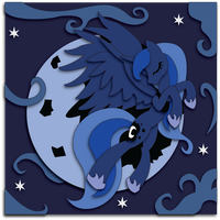 Moon Princess: MLP Luna by The-Paper-Pony