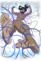 Tickling Korra - The Legend of Korra by OekakiTickles