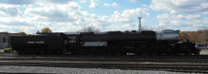 UP Big Boy No. 4012 Side View by rlkitterman