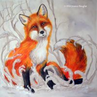Little Fox by JessicaMDouglas