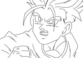 Trunks: What Is this Power by darkhawk5