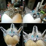 making of an ice crown  by Cyanida