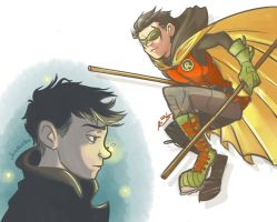 Damian Wayne - Son of Batman by BabyPhat268