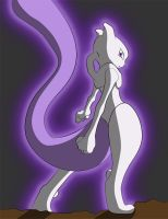 Mewtwo by frozen--phoenix