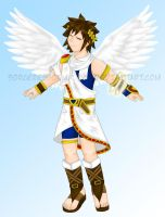 Kid Icarus by SorceressofMalice
