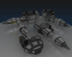 SMC4 - Mini-Railgun by 3dmodeling