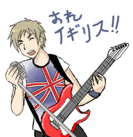 England on the Guitar by Duelistabbeyryou